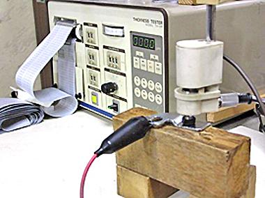 電解式めっき厚さ測定器